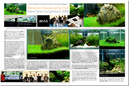 Nana Aquascaping Competition 2008