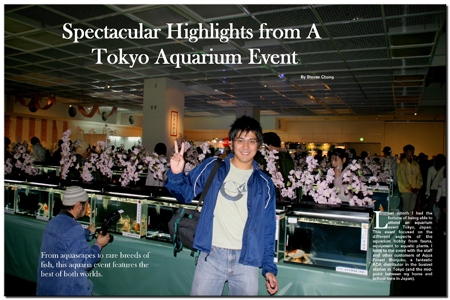 Tokyo Aquarium Event