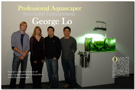 Worldclass Aquascaper George Lo