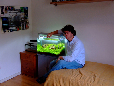 Pedro Pinto and his aquacape