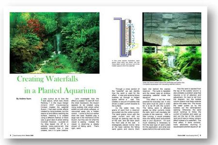 Creating Waterfalls In Planted Aquariums