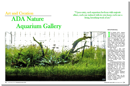 ADA Nature Aquarium Gallery
