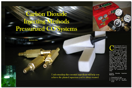 Pressurized CO2 Systems